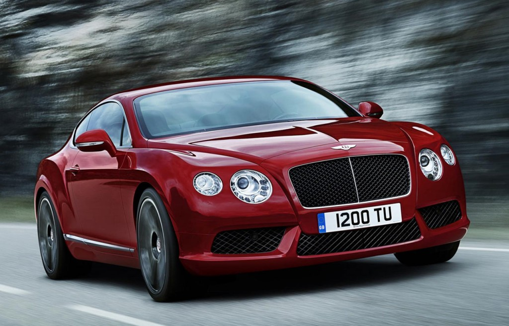 Bentley Continental GT luxury car 2015