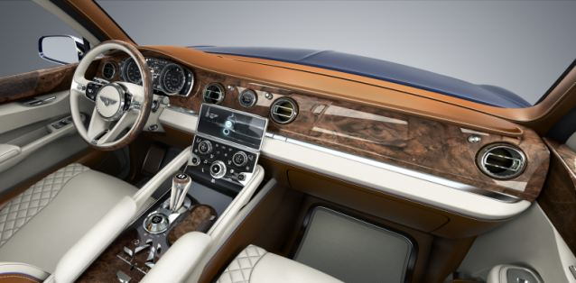 bentley inside interier luxury car