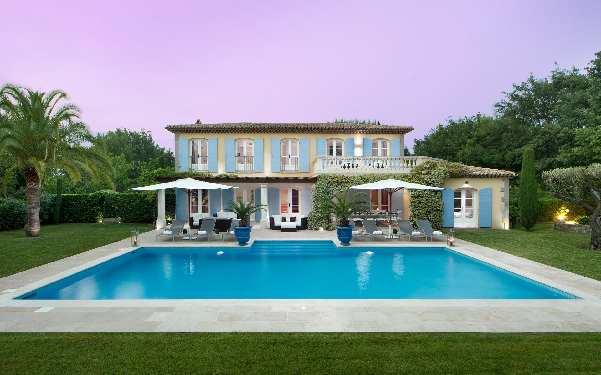 Best luxury villas luxury things for France piscine