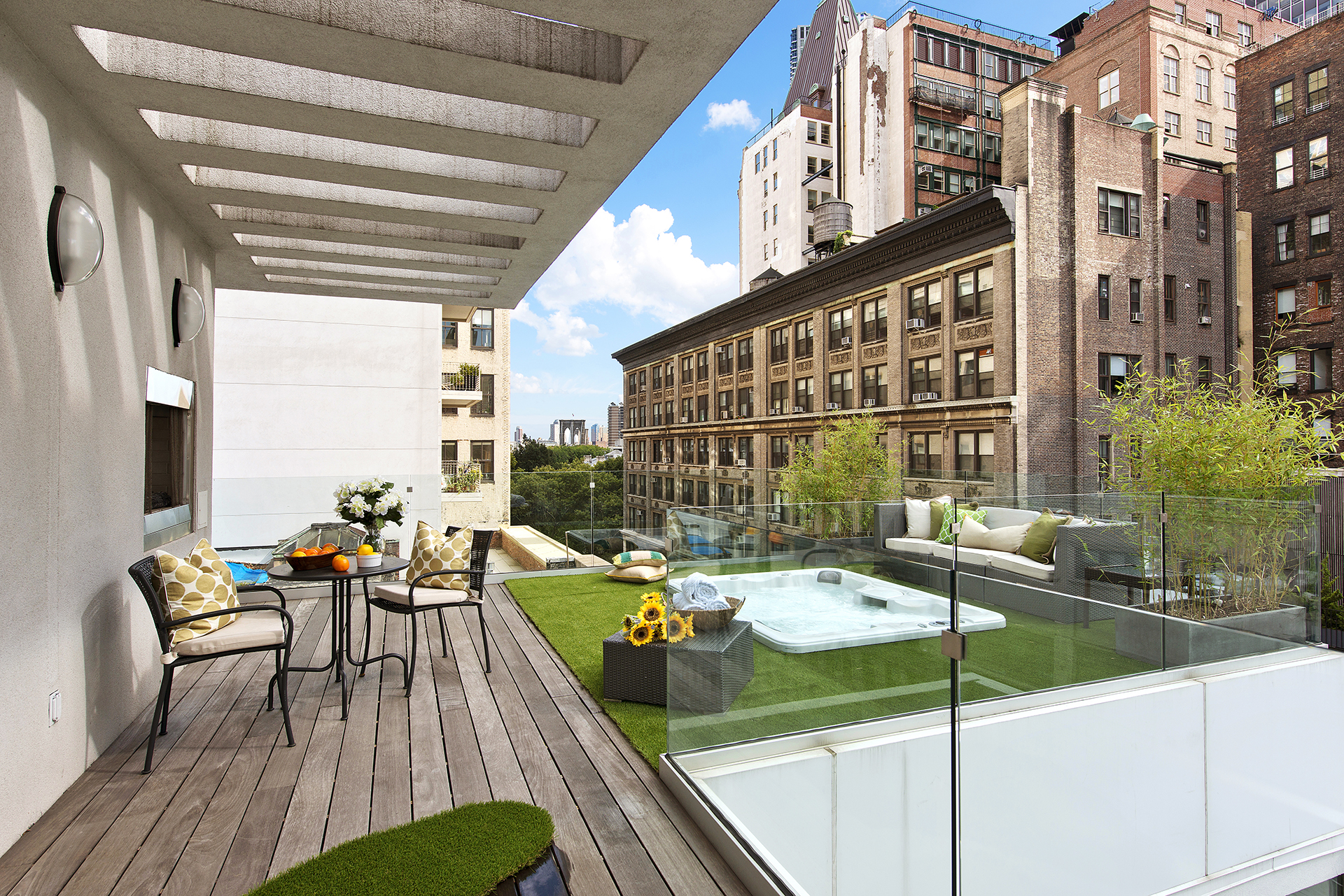 Luxury new york penthouse apartments luxury things for Modern house new york
