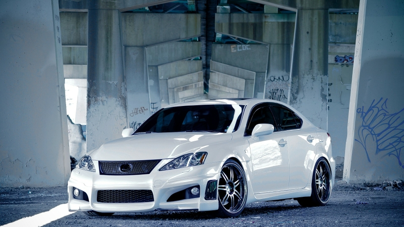 white lexus tuning luxury sport cars