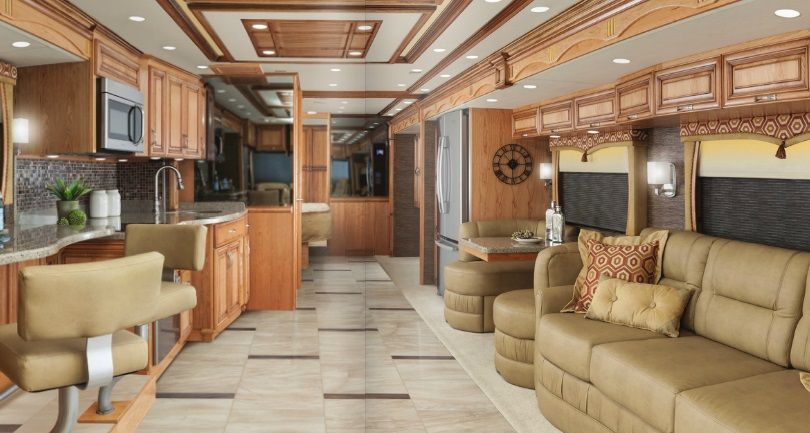2015 luxury camper truck