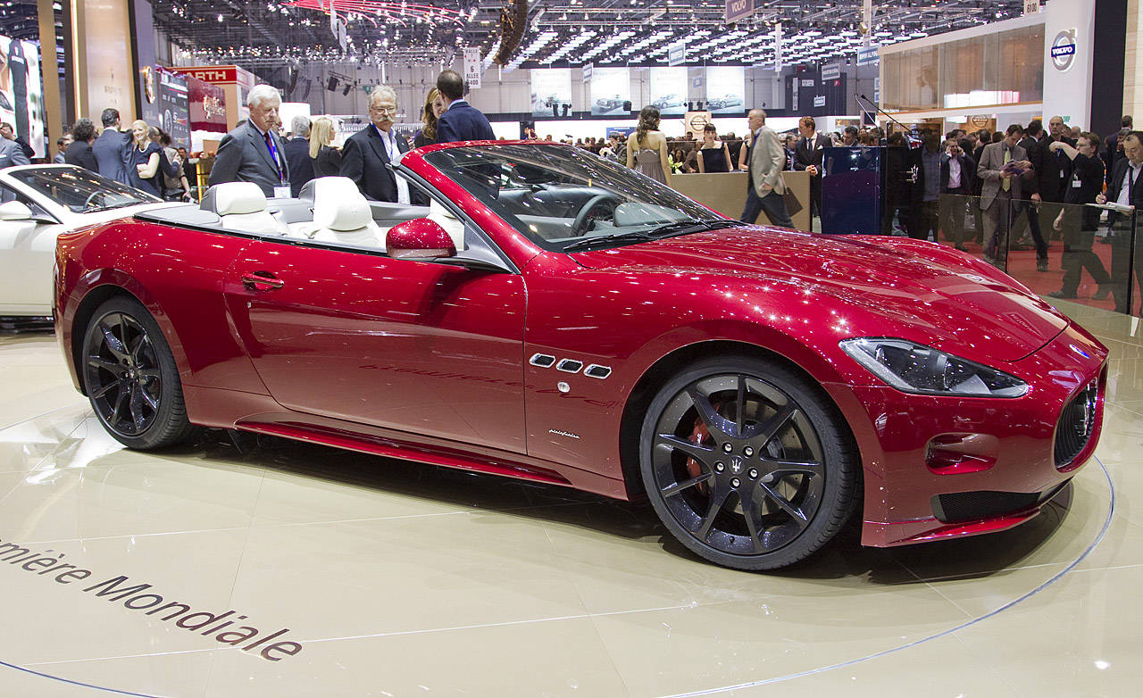 Red Maserati Cars Luxury Things