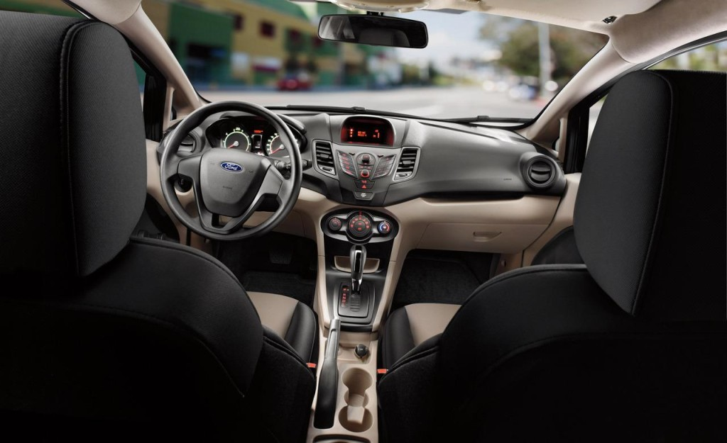 2015 Ford Fiesta interior inside