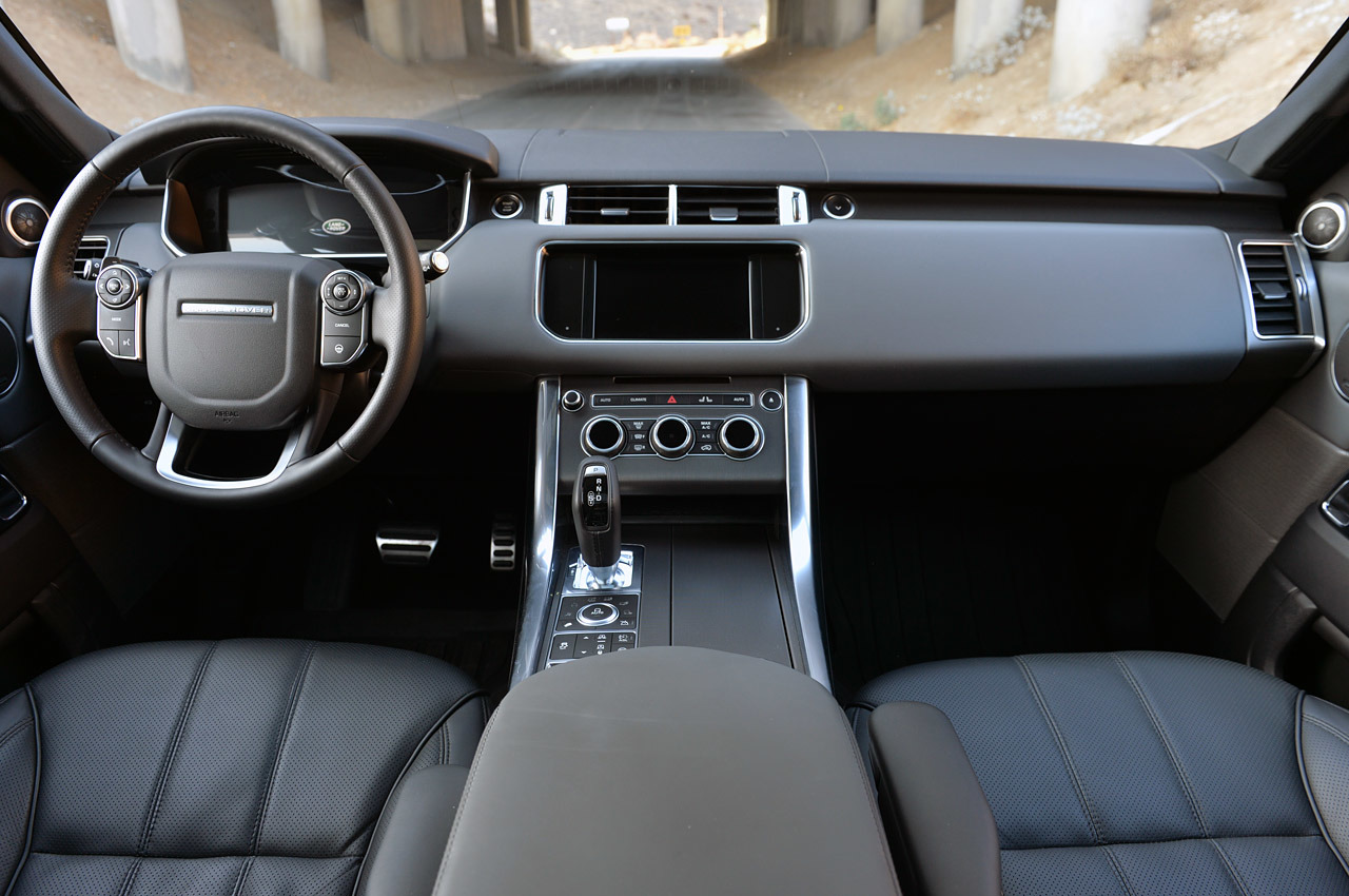 2015 range rover vogue black car interior design for All blacks interiors