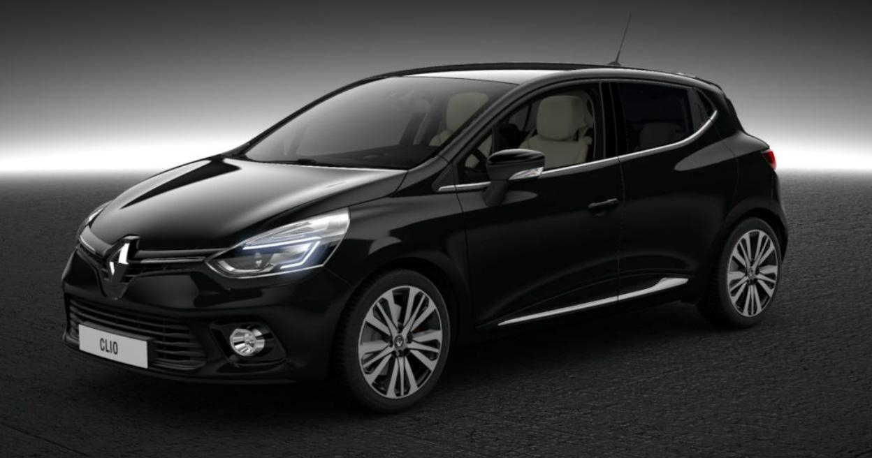 2015 renault clio black RS model