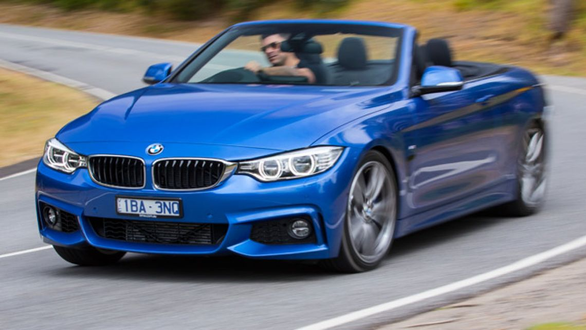 BMW 4 Series Convertible wide