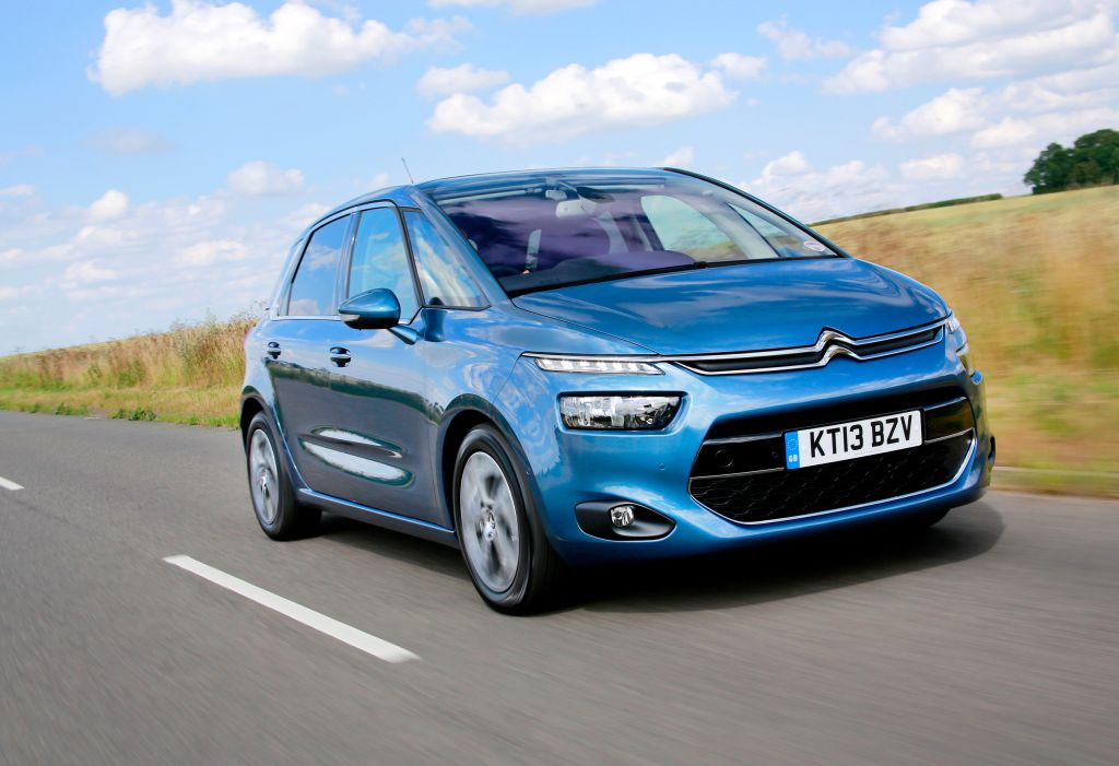 blue 2015 Citroen C4 price