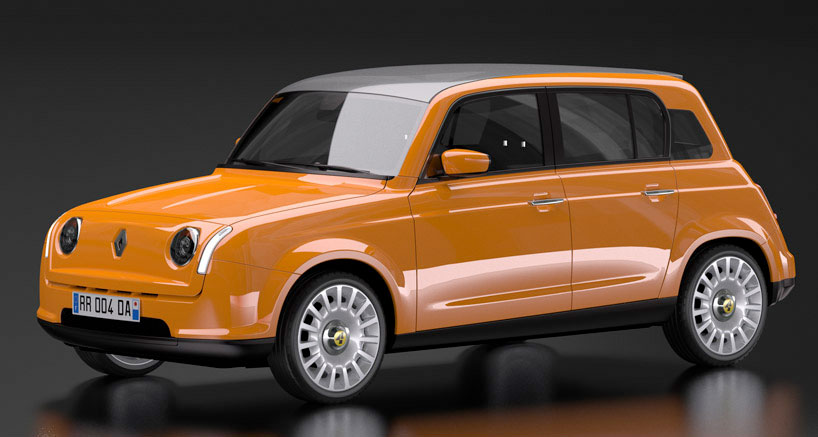 new Renault 4 car 2015