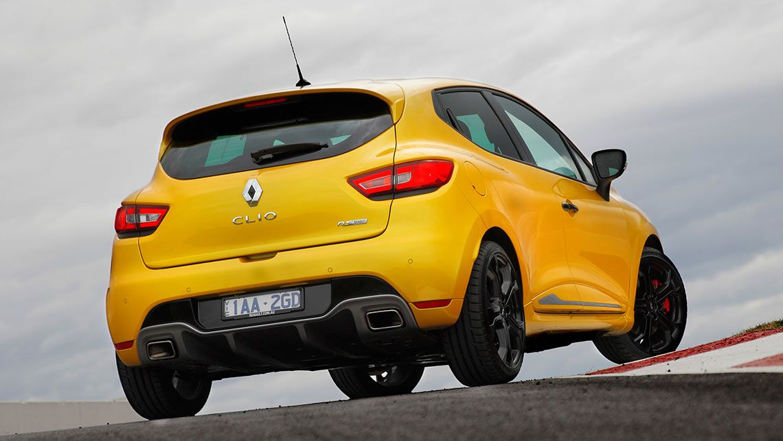 renault clio rs 2015 yellow
