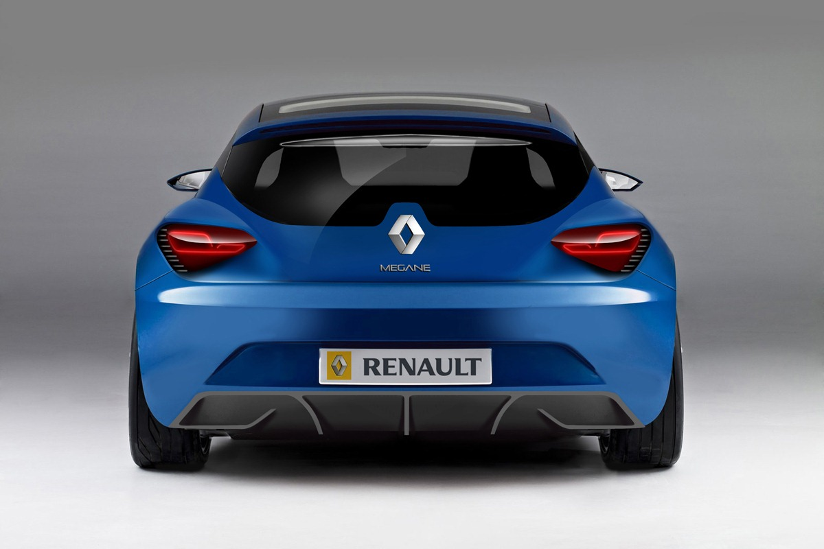 renault megane coupe blue 2015