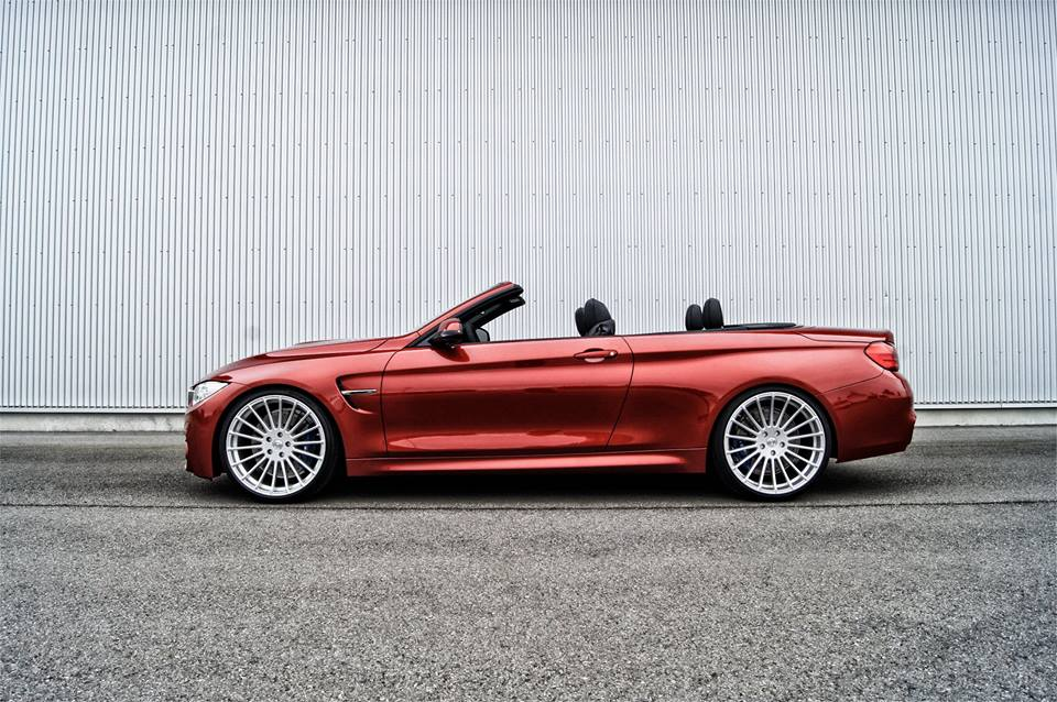 red hamann bmw m4 convertible