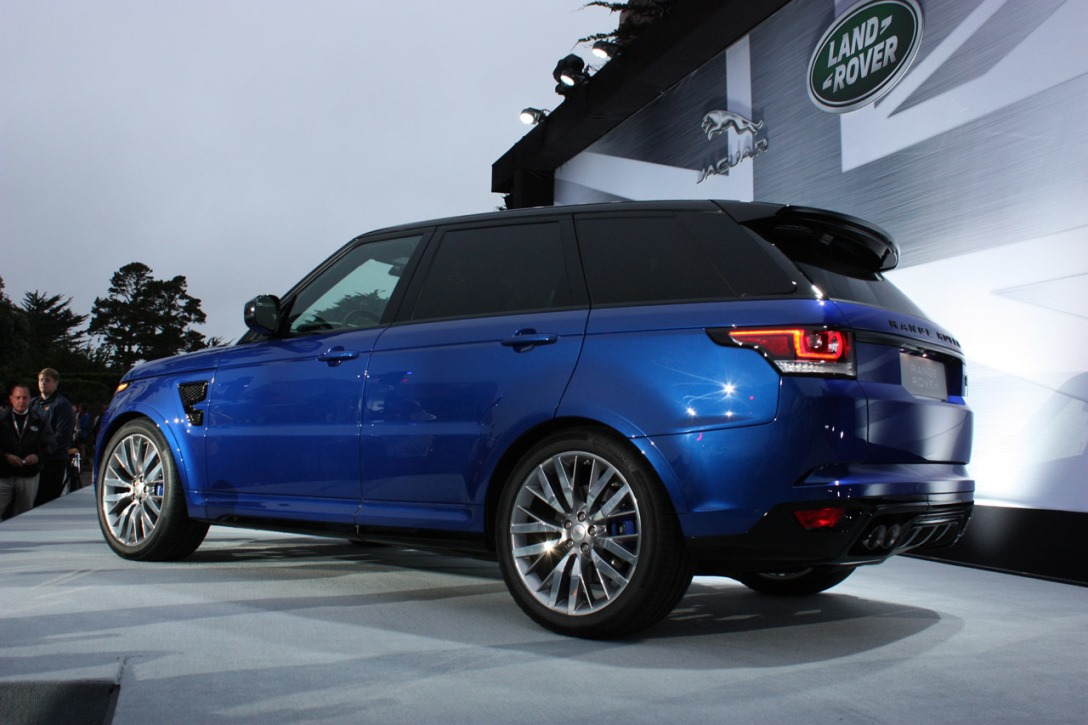 2016 range rover sport svr luxury things. Black Bedroom Furniture Sets. Home Design Ideas
