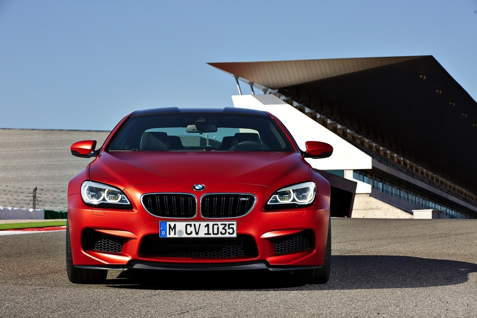 2016 BMW M6 red Coupe