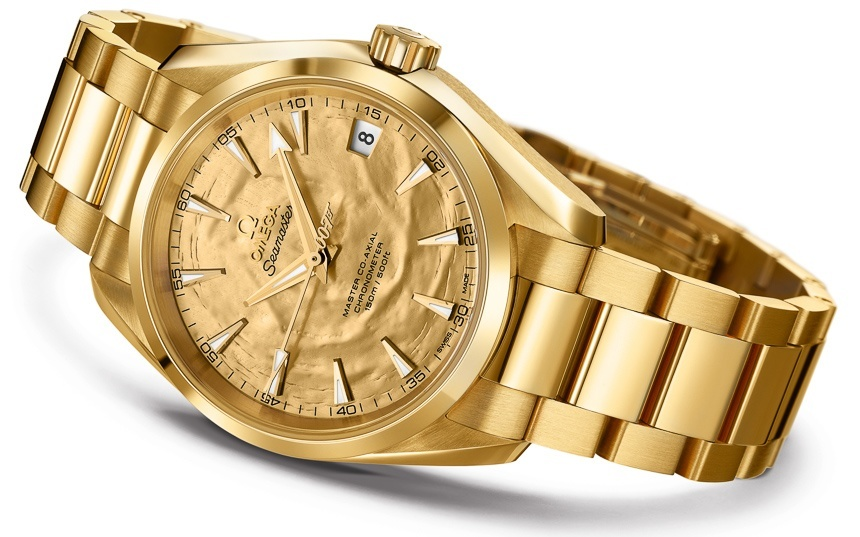 Omega gold watches