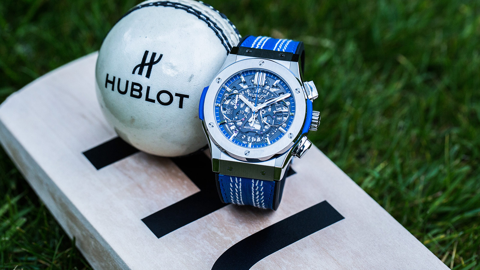 Hublot watches blue