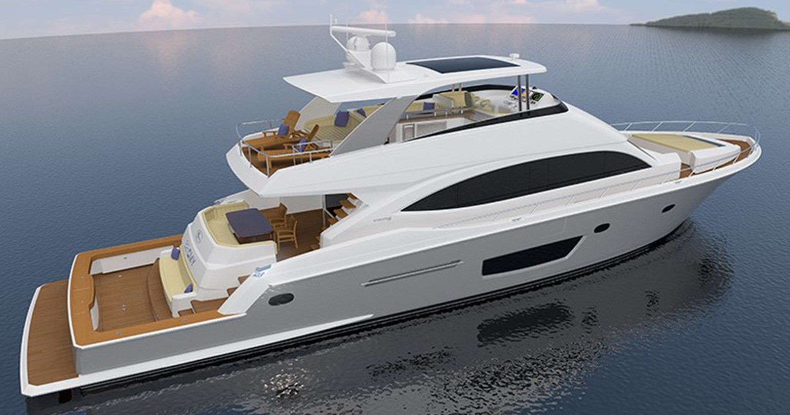 Luxury yacht 2017 new