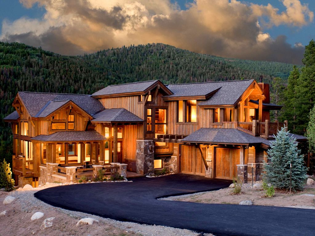 Luxury mountain houses 2018 wallpapers luxury things for Mountain houses