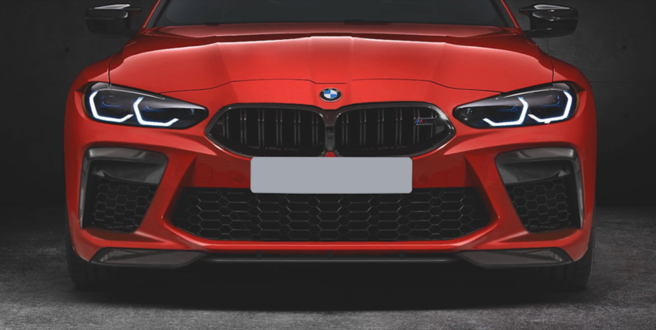2021 bmw m3 replacement bumper for sale